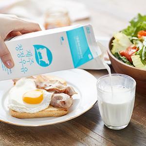 제주청정우유[팩] (900ml)