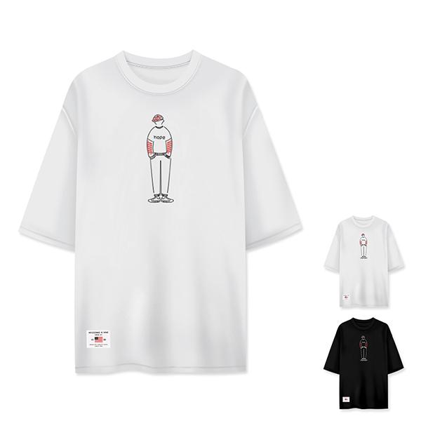 티짱 야구소년 5부 티셔츠