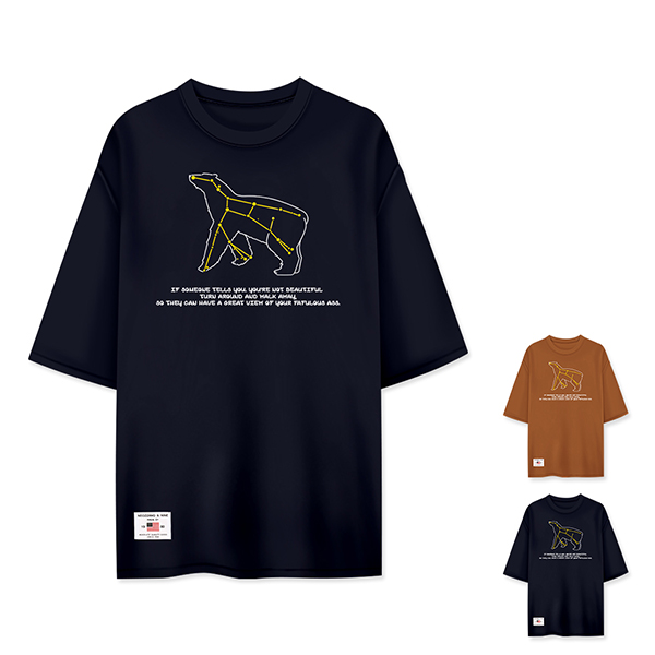 [MD추천] 티짱 별자리 5부티셔츠