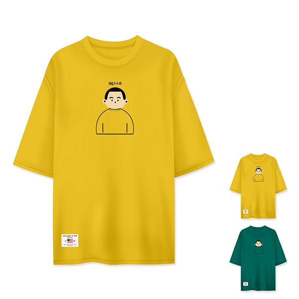 티짱 헬로 5부 티셔츠