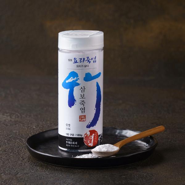 요리용 죽염1회 (180g) / 삼보 대표이미지 섬네일