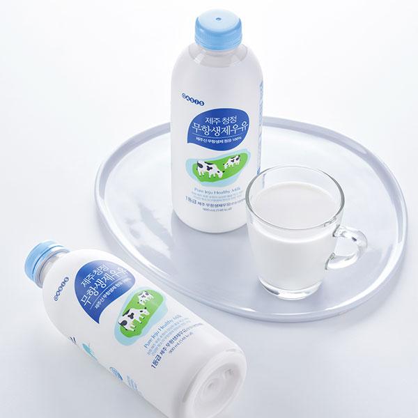 제주청정 무항생제우유(900ml) 상품이미지