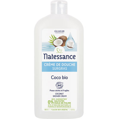 [나떼쌍스] 유기농 코코넛 샤워 크림 500ml