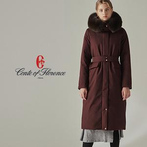 [구스다운 파격세일] 꼰떼 오브 플로렌스 여성 사가퍼 헤비 구스다운 코트 대표이미지 섬네일