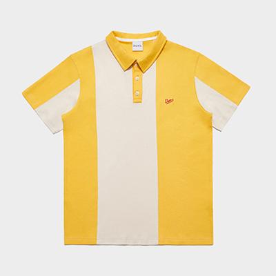 에너지 볼링 셔츠 옐로우