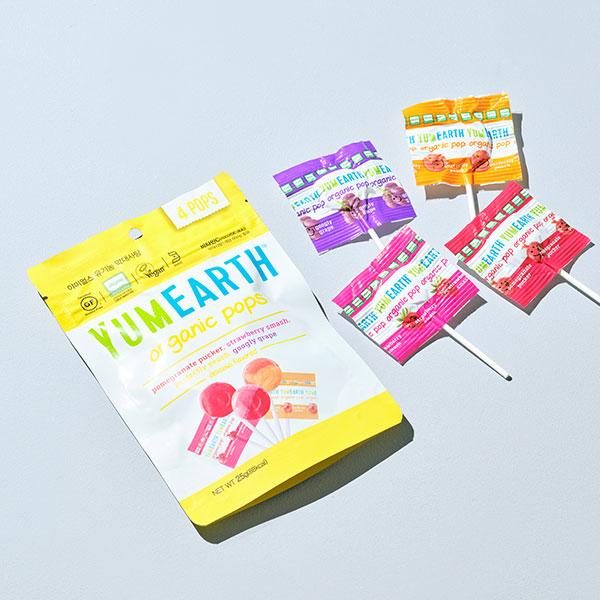 야미얼스 유기농 막대사탕 25g(비타민C함유) 상품이미지