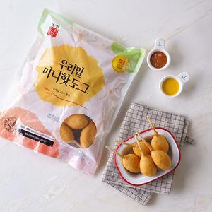 우리밀 미니 핫도그 (600g,냉동)