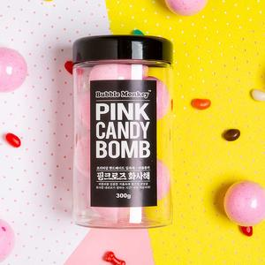 핑크 캔디밤 - 거품입욕제