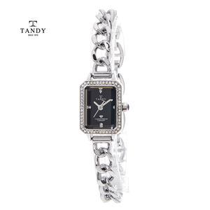 [입점특가/인기][TANDY] 탠디 다이아몬드 원터치 시계 T-4035 BK
