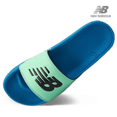 뉴발란스 슬라이드 슬리퍼 NBPJAB101B50 블루