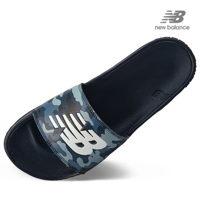 뉴발란스 슬라이드 슬리퍼 NBPJAB103B50 블루