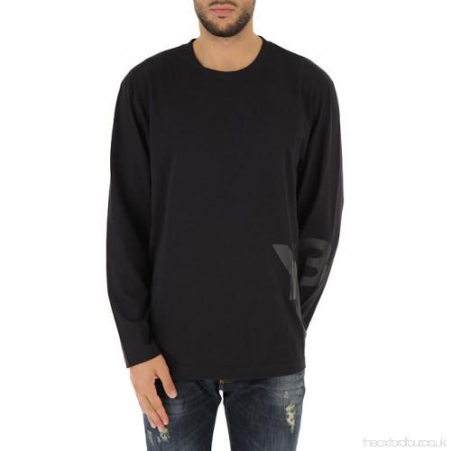 [Y-3] 롱 슬리브 로고 클래식 티셔츠 CF0445