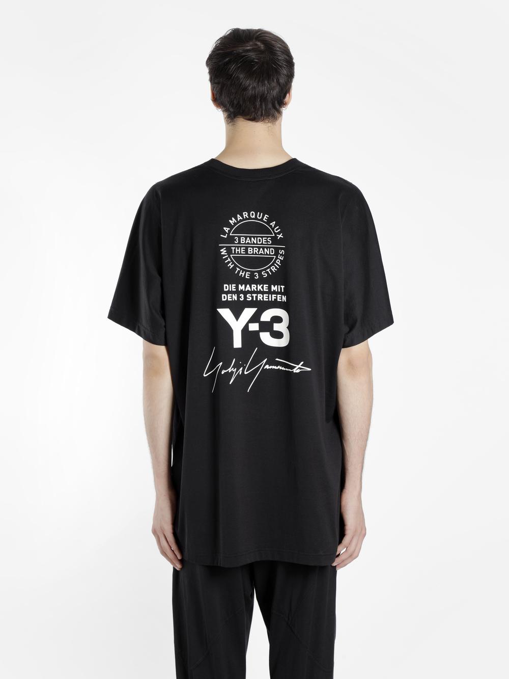 [Y-3] 반팔 티셔츠 블랙 화이트 CY6969 / CY6970