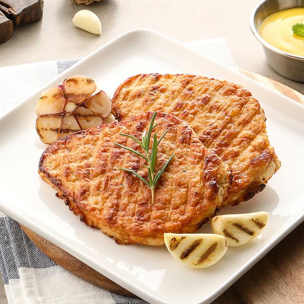 [목우촌] 닭가슴살 스테이크 100g (청양고추,광양불고기,구운갈릭) 대표이미지 섬네일