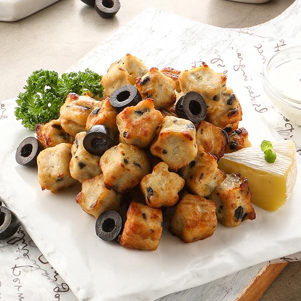 [목우촌] 까망베르 큐브 닭가슴살 100g (블랙올리브,치즈불닭,오리지널) 대표이미지 섬네일