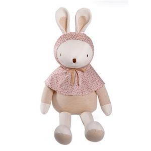 [출산선물] 밍크엘레팡 토름이 오가닉인형 중형 핑크