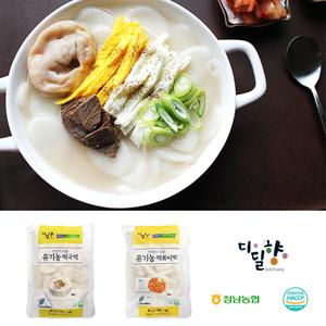 정남농협 디딜향 유기농 떡국떡/떡볶이떡 500g 대표이미지 섬네일