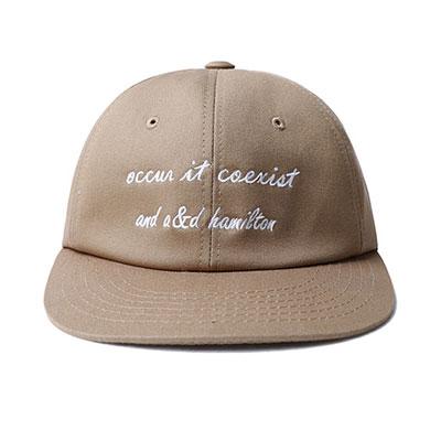 [더로그]thelogue occur hamilton beige ballcap