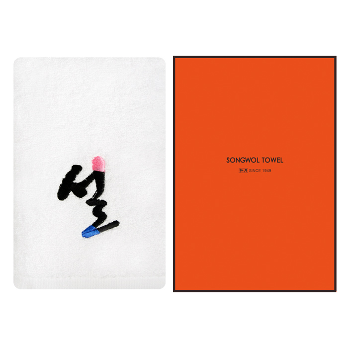 송월 설자수 10매(케이스)