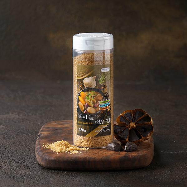 흑마늘 먹은 천일염 (180g) 대표이미지 섬네일