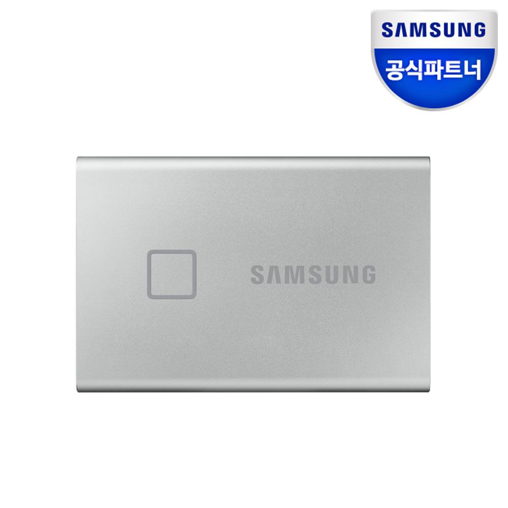 삼성전자 외장SSD T7 Touch 500GB 실버