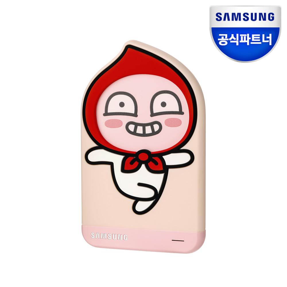 삼성전자 외장하드 카카오 1TB 어피치 핑크
