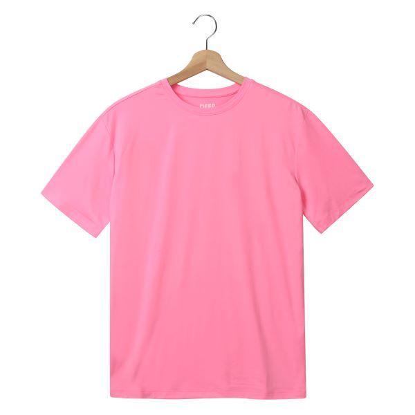 [DEEP] 스판 반팔티셔츠(핑크)