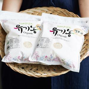 유기농 찰보리 (2kg)