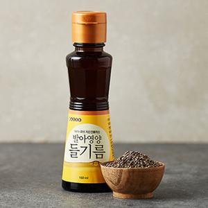 발아영양 들기름 (160ml)