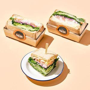 데리야끼 닭가슴살 호밀 샌드위치(하프/160g)