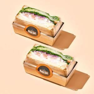 화이트크림 깐쇼새우 호밀 샌드위치(하프/160g)