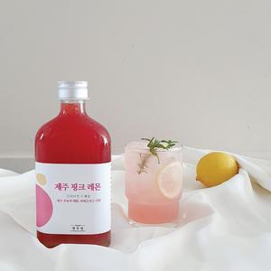 [열두달] 제주 핑크 레몬청