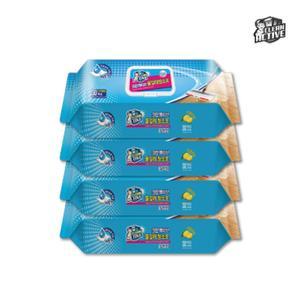크린액티브 물걸레청소포 30매 4팩_표준형