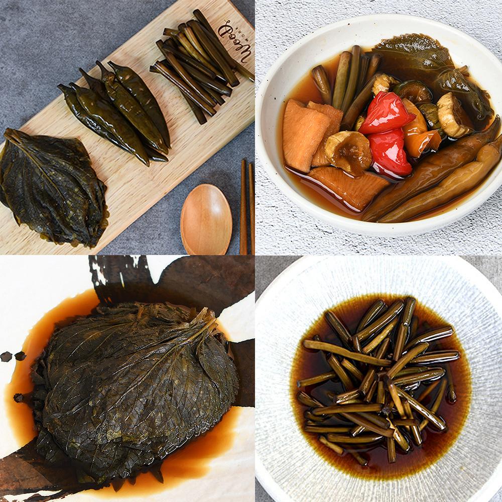 가정식 집밥 밑반찬 절임류 장아찌(고추/깻잎/마늘쫑/청양고추/모듬장아찌) 대표이미지 섬네일