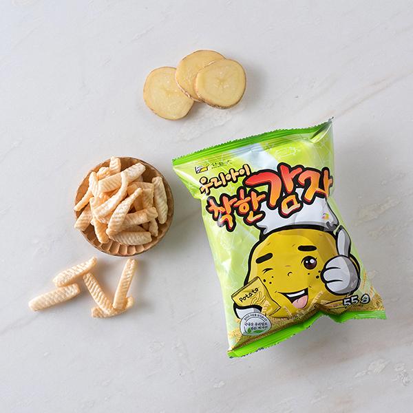 산들촌 착한 감자 (55g) 대표이미지 섬네일