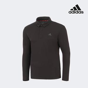 아디다스 골프 남성 폴로 카라 쓰리버튼 티셔츠 블랙 FZ8464