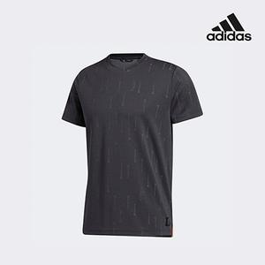 아디다스 골프 아디크로스 X 반팔 티셔츠 블랙 GD9077