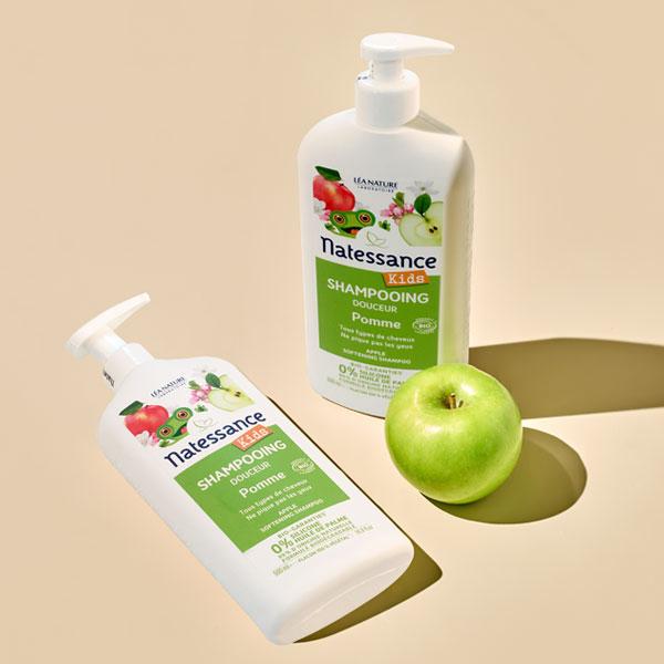 [나떼쌍스] 유기농 사과 샴푸 키즈 500ml