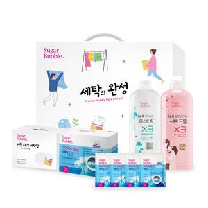 [단독최저가/선물세트] 슈가버블 세탁의 완성 선물세트