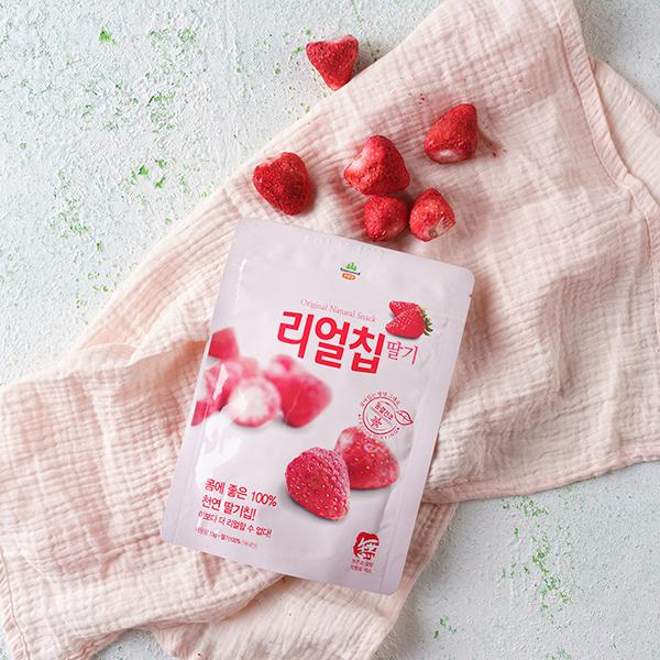 리얼칩 딸기 (13g) 대표이미지 섬네일