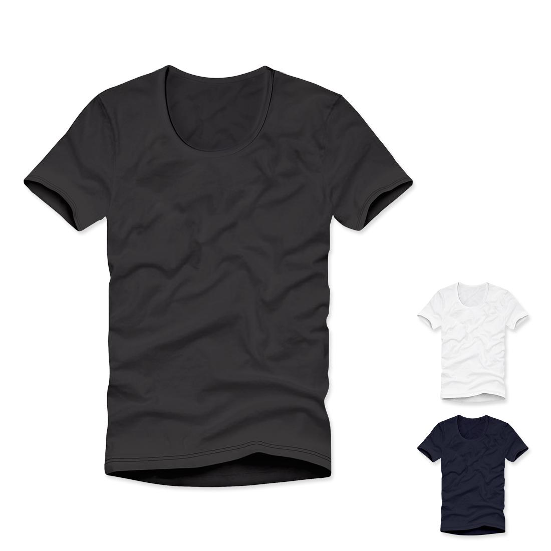 [데일리필수템] 티짱 목깊은U넥 20수 반팔 티셔츠