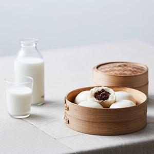 우리밀 우리쌀 찐빵 (10입/500g)