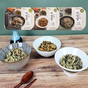 [하늘농가] 삼시세끼~냉동 비빔밥 3종세트 대표이미지 섬네일