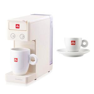 일리 프란시스 Y3.3 커피머신 화이트 + 에스프레소 잔 60ml