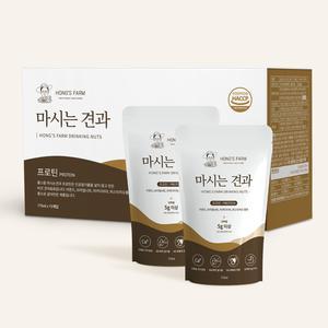홍스팜 마시는견과 프로틴 1박스 / 화학첨가물없이 / 프로틴up, 고칼슘 음료 대표이미지 섬네일