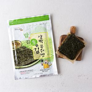 밥엔김 살짝구워낸 생김 (25g)