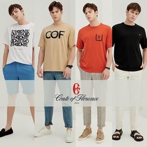 [꼰떼오브플로렌스] 남성 멀티 그래픽 티셔츠 4종 택 1_COF2003TS01M 대표이미지 섬네일