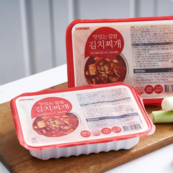 맛있는집밥 김치찌개 (500g) 대표이미지 섬네일