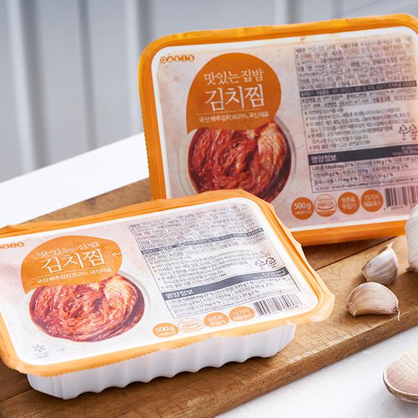 맛있는 집밥 김치찜 (500g) 대표이미지 섬네일