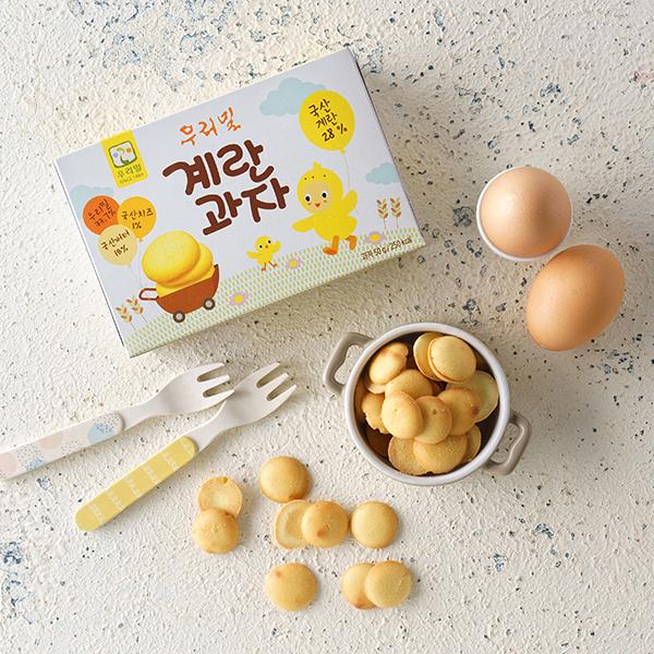 우리밀 계란과자 (50g) 대표이미지 섬네일